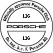 Officially approved Porsche Club 116