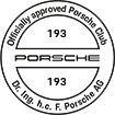 Officially approved Porsche Club 193