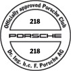 Officially approved Porsche Club 218