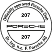 Officially approved Porsche Club 207