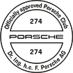 Officially approved Porsche Club 274