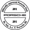 Officially approved Porsche Club 201