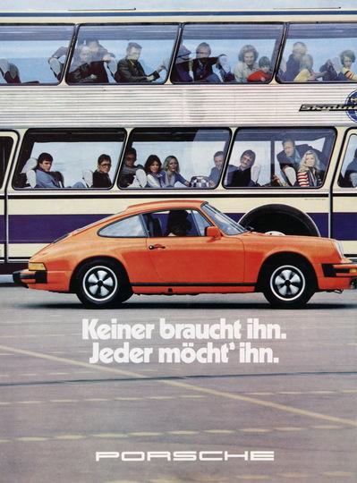 Werbung Damals Porsche Club F 252 R Den Klassischen 911