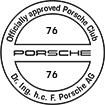 Officially approved Porsche Club 76