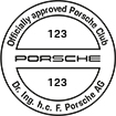 Officially approved Porsche Club 123