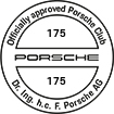 Officially approved Porsche Club 175