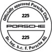 Officially approved Porsche Club 225