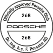 Officially approved Porsche Club 268