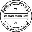 Officially approved Porsche Club 71