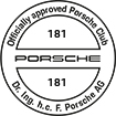 Officially approved Porsche Club 181