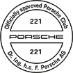 Officially approved Porsche Club 221