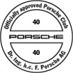 Officially approved Porsche Club 40