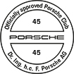 Officially approved Porsche Club 45