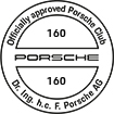 Officially approved Porsche Club 160